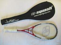 e-Squash James Willstrop Signature carbon squash racket and cover