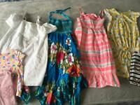 Girls age 7-8 Large summer clothes bundle