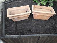 Terracotta Garden Pots.