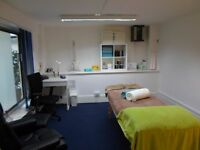 Therapy rooms for rent in London Bridge for Massage, Acupuncture, Osteopathy etc