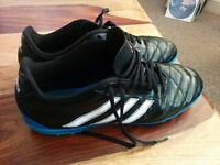 Adidas Astroturf Trainers. Size 10.5 (will fit size 10) Good Condition