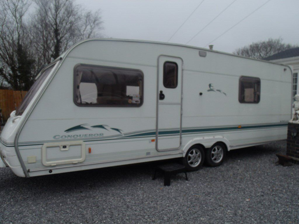 Swift Conqueror 4 Berth Touring Caravan With Fixed Bed