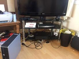 Glass tv unit free