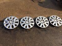 Dahiatsu Terios steel wheels with tyres and trims