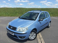 VERY LOW MILEAGE 2005 FIAT PUNTO 1.2 SPECIAL EDITION ONLY 30K FULL SERVICE HISTORY VERY NICE CAR