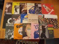 17 x 1980's singles