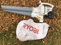 Leaf Blower / Vacuum in full working order (Ryobi RGBV3100 2-Cycle Mulching) - See YouTube Video