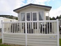 FOR SALE: BLUEBIRD SHERATON STATIC CARAVAN: 2008 MODEL: 2017 PITCH FEES INCLUDED IN PRICE.