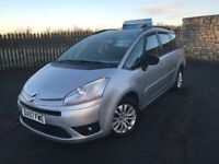 2008 57 CITOREN C4 PICASSO 1.8i 16v VTR+ *7 SEATER* - NOVEMBER 2018 M.O.T - IDEAL FAMILY CAR!