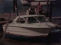 Motor boat. Coronet midi 24. Day boat. 1973.