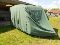 Caravan quilted cover for 14-17 foot van