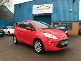 2010/60 FORD KA 1.2 ZETEC 3dr HATCHBACK # 12 MONTHS MOT # TIDY CAR # CAT S