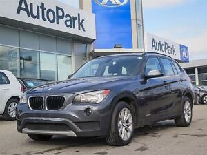 2013 BMW X1 AWD/ALLOY WHLS/FOG LIGHTS/HEATED LEATHER SEATS