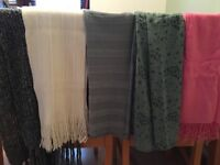 Selection of scarves