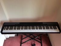 Digital piano, weighted keys (Casio CDP-100) with stand
