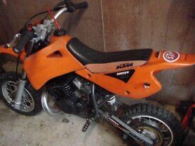KTM 50cc scrambler