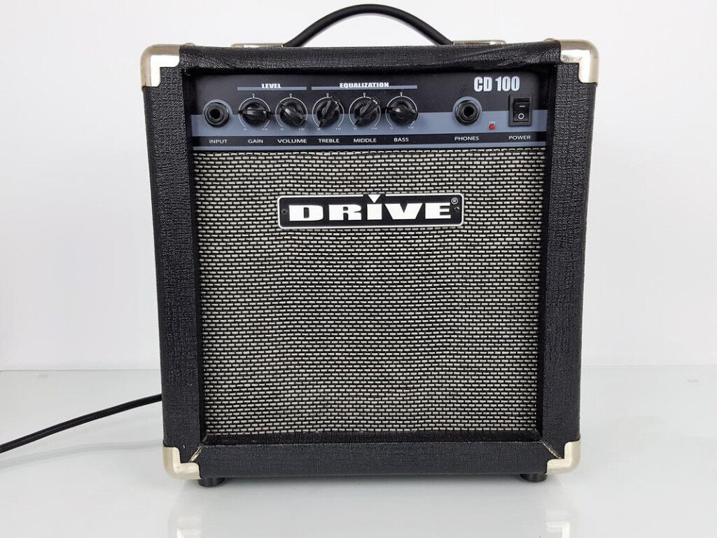 DRIVE CD100 GUITAR PRACTISE AMPLIFIER.