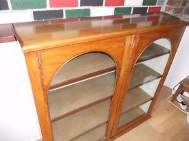 ANTIQUE BOOKCASE / DISPLAY CABINET