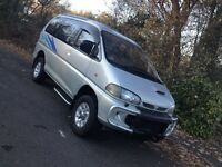 MITSUBISHI DELICA SUPER EXCEED 2.8 TD CRYSTAL MOON ROOF 5 SEATER CAMPER MPV DAY VAN/ MAZDA BONGO