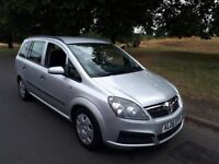 VAUXHALL ZAFIRA 1.6 EXPRESION 7 SEATER 2006/06