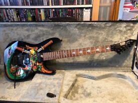 ESP skulls & snakes George Lynch custom made replica guitar