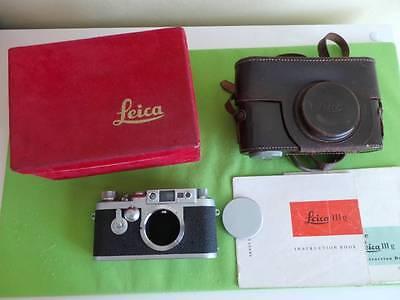 LEICA/LEITZ IIIG RANGEFINDER CAMERA LEICA/LEITZ IIIG CAMERA BOXED & IIIG CASE