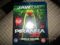 6 Blu-Ray 3D DVD'S
