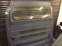 Mercedes Sprinter bulkhead with glass