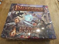 Pathfinder Rise of The Runelords Card Game - Base Set + all adventure decks