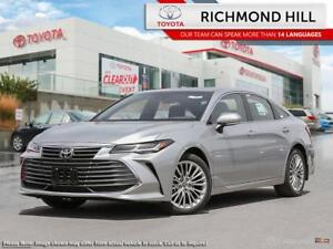 2019 Toyota Avalon Limited  - Leather Seats - $186.69 /Wk