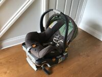 Car seat for new borns and babies