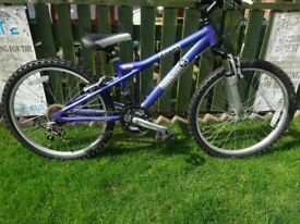"GIRLS 24""MOUNTAIN BIKE DAWES BANDIT. GREAT CONDITION, LIGHTWEIGHT ALUMINIUM FRAME, ALL FULLY WORKING"