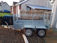 Bilders trailer 8x4 brakes and led lights