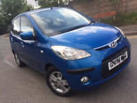 AUTOMATIC HYUNDAI I10 2008 5 DOOR. 1 LITER ENGINE. ONLY 66 K MILES. LONG MOT. CHEAPEST IN UK