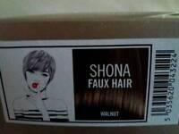 Short brown wig
