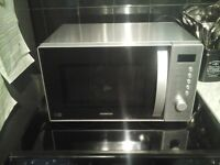 Kenwood stainless steel microwave