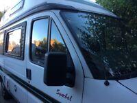 Auto sleeper symbol Peugeot camper