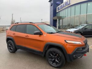 2016 Jeep Cherokee Trailhawk Trailhawk,Leather,Nav,P.Gate,Roof