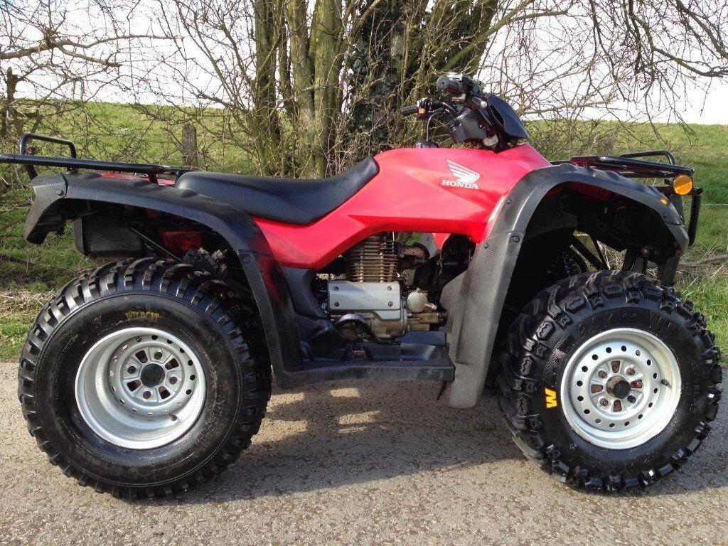 HONDA TRX 350 4X4 FARM QUAD FOURTRAX FOURMAN ATV GRIZZLY 420 500 300 350