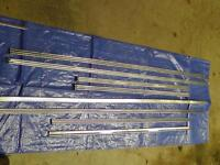 1966 Ford Fairlane various small trim parts for sale