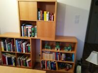 Habitat Display Units - Bookshelves and Storage Cubes