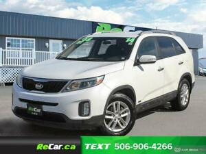 2014 Kia Sorento LX AWD | HEATED SEATS | ONLY $59/WK TAX INC....