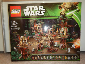 Lego Star Wars Ewoke Village 10236
