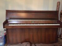 Baldwin Monarch upright piano. Good condition