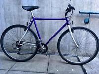 """Men's Carrera Hybrid Bicycle Large 23"""" Frame 21 """""""