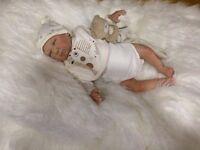 "Reborn Baby Doll "" Preston "" Realistic Newborn Lifelike"