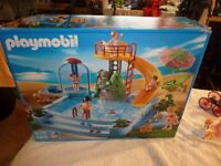 Playmoble Swimming Pool and other accessories