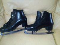 Mens vintage Figure skating boots