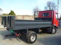 04 daf 7.5 tipper lorry