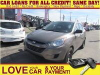 2011 Hyundai Tucson GL * CAR LOANS FOR ALL CREDIT SITUATIONS